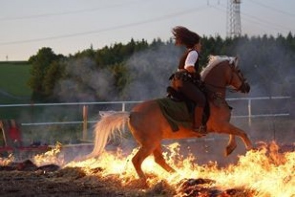 Ritterworkshops, Feuertraining & Mounted Archery